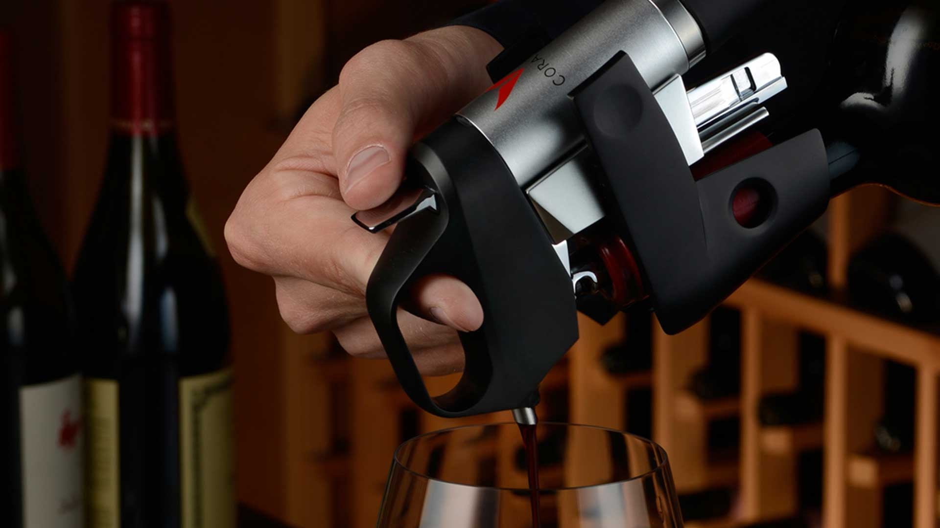 Coravin Pouring